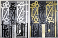 grey & gold (eastern realm) by retna