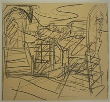 studio steps by frank auerbach