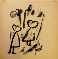 twee personen by corneille