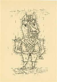 esel by paul klee