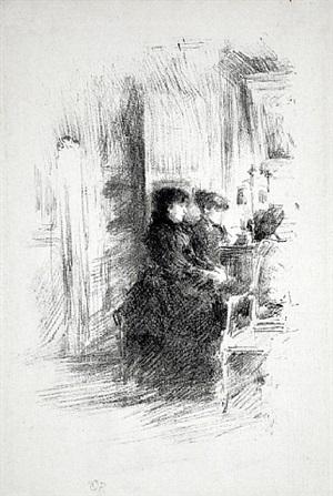 the duet by james abbott mcneill whistler