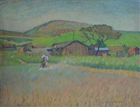 japanese farm: palos verdes by robert mcintosh