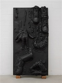 finger panel i by thomas houseago
