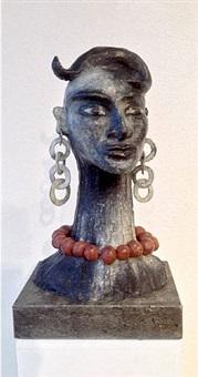 bronzeskulptur by elvira bach