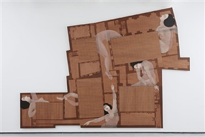 five court compound by hayv kahraman