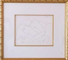 dessins: themes et variations (f10) by henri matisse