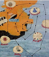star chart by squeak carnwath
