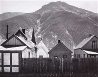 silverton, colorado by ansel adams