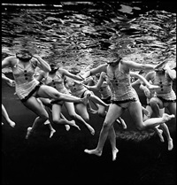 aquacade, florida by philippe halsman
