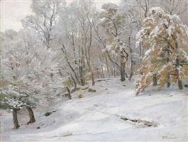 winterlandschaft by hugo darnaut