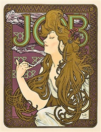 job by alphonse mucha