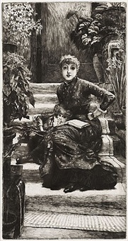 la soeur aînée (the elder sister) by james jacques joseph tissot