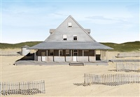 caffey's inlet lifesaving station (dare county, nc) by james casebere