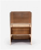 armchair by donald judd