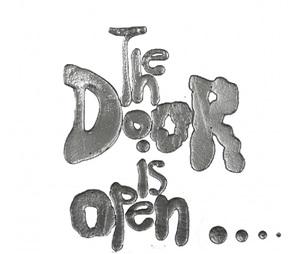 the door is open… by rob wynne