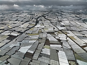 greenhouses, almira peninsula, spain by edward burtynsky