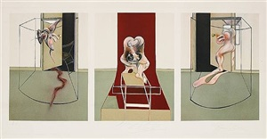 triptych inspired by oresteia of aeschylus by francis bacon