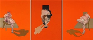 triptych 1983 by francis bacon