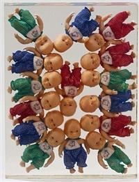bambole accumulation by arman