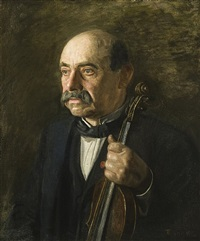 major manuel waldteufel by thomas eakins