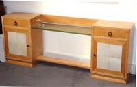 meuble d'appui coiffeuse / low sideboard by andré arbus