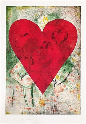 yellow marks by jim dine