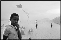 brazil. rio de janeiro. copacabana beach. 1958. by rené burri