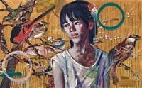 birdsong by hung liu