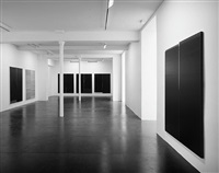 exhibition view by wade guyton