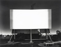 south bay drive-in, san diego by hiroshi sugimoto
