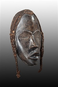 dan mask, liberia, <i>deangle</i> by unknown