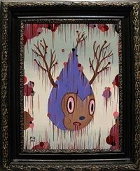 release of twiggy ii by gary baseman