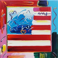 flag by peter max