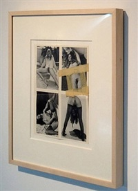 collage #12 by betty tompkins