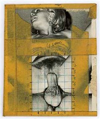 collage #5 by betty tompkins
