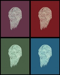 the skeleton hair by wu jian'an