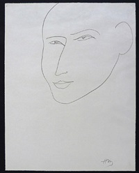 head by henri matisse