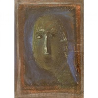 portrait of a woman by marino marini