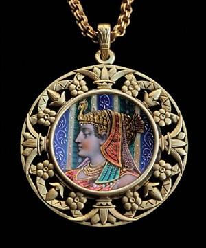 egyptian revival: pendant
