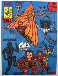 invincibles #1 by michael scoggins