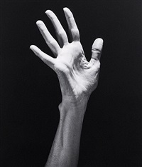 lucinda's hand by robert mapplethorpe
