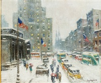 midtown storm by guy carleton wiggins