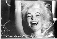 marilyn monroe with rhinestones by bert stern