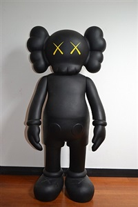 companion 4ft black by kaws