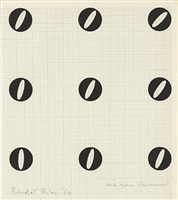 wide spacing slow movement by bridget riley