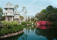 pond, anaheim california by thomas struth