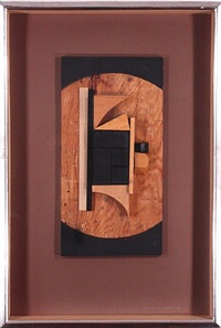 untitled (2) by louise nevelson