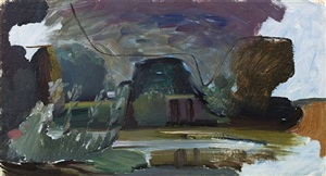 terwick mill by ivon hitchens