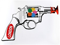 revolver by mr. brainwash