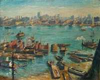 across the hudson by max kuehne